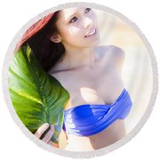 Beauty In Nature Round Beach Towel by Jorgo Photography - Wall Art Gallery