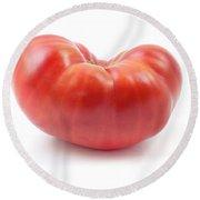 Beefsteak Tomato Round Beach Towel