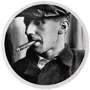 Bertolt Brecht (1898-1956) Round Beach Towel