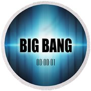 Big Bang Round Beach Towel