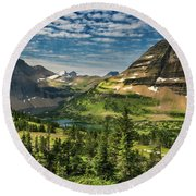 Big Sky Country Round Beach Towel