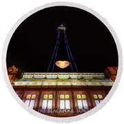 Blackpool Tower Round Beach Towel