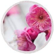 Blossom Round Beach Towel