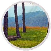 Blue Ridge Mountains - Virginia 2 Round Beach Towel