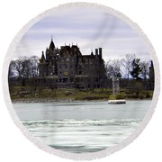 Boldt Castle Round Beach Towel