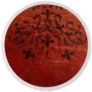 Boudoir Two Round Beach Towel
