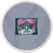 Brick House Round Beach Towel