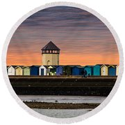 Brightlingsea Essex  Round Beach Towel