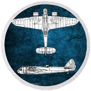Bristol Blenheim Round Beach Towel