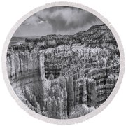 Brycecanyon 4 Round Beach Towel