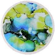 Bubble Collection Round Beach Towel