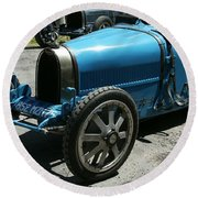Bugatti Oldtimer Round Beach Towel