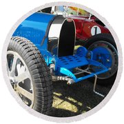 Bugatti Racer Round Beach Towel