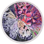 Butterfly Enchantment Round Beach Towel