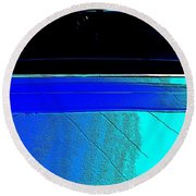Car Reflection Bump Map 5 Round Beach Towel