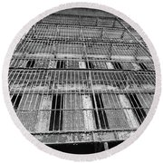 Cell Block Round Beach Towel