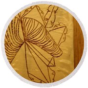 Changes - Tile Round Beach Towel