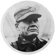 Chesty Puller Round Beach Towel