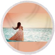 Child Round Beach Towel