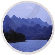 China, Guilin Round Beach Towel