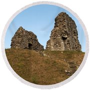 Christchurch Castle Round Beach Towel