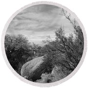 Cibola National Forest Round Beach Towel