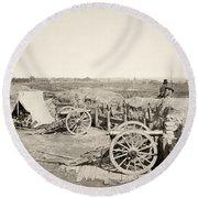 Civil War: Atlanta, 1864 Round Beach Towel