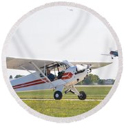 Cub And More Round Beach Towel