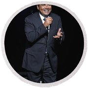 Comedian George Lopez Round Beach Towel