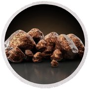 Copper Nugget Collection Round Beach Towel