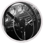 Cord Phaeton Dashboard Round Beach Towel