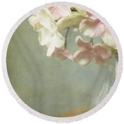 Country Charm Round Beach Towel