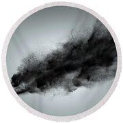Creative Dark Cloud Round Beach Towel