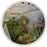 Crystal Bridge Round Beach Towel