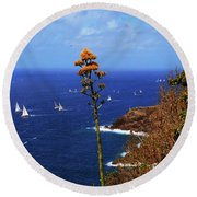 Daggers Los Antigua Round Beach Towel