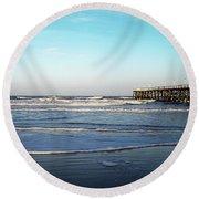 Daytona Dawn II Gp Round Beach Towel
