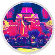 Despicable Me 2 Round Beach Towel