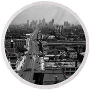 Detroit 1942 Round Beach Towel