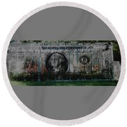 Dollar Bill Round Beach Towel