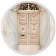 Doors Of The World 71 Round Beach Towel