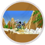 Dragon Ball Z Round Beach Towel
