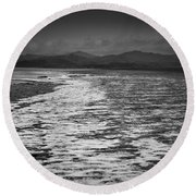 Duddon Estuary  Round Beach Towel