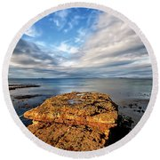 Duntulm Round Beach Towel
