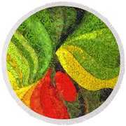 Easter Round Beach Towel