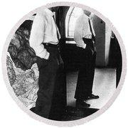 Egon Schiele (1890-1918) Round Beach Towel