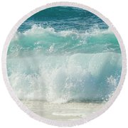 Eternity In A Moment Round Beach Towel