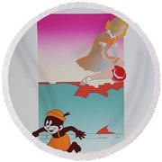 Exile On Main Street Round Beach Towel