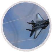 F-15 Strike Eagle Round Beach Towel
