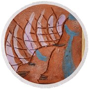 Family 14 - Tile Round Beach Towel