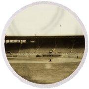 Fenway Park 1914 Round Beach Towel